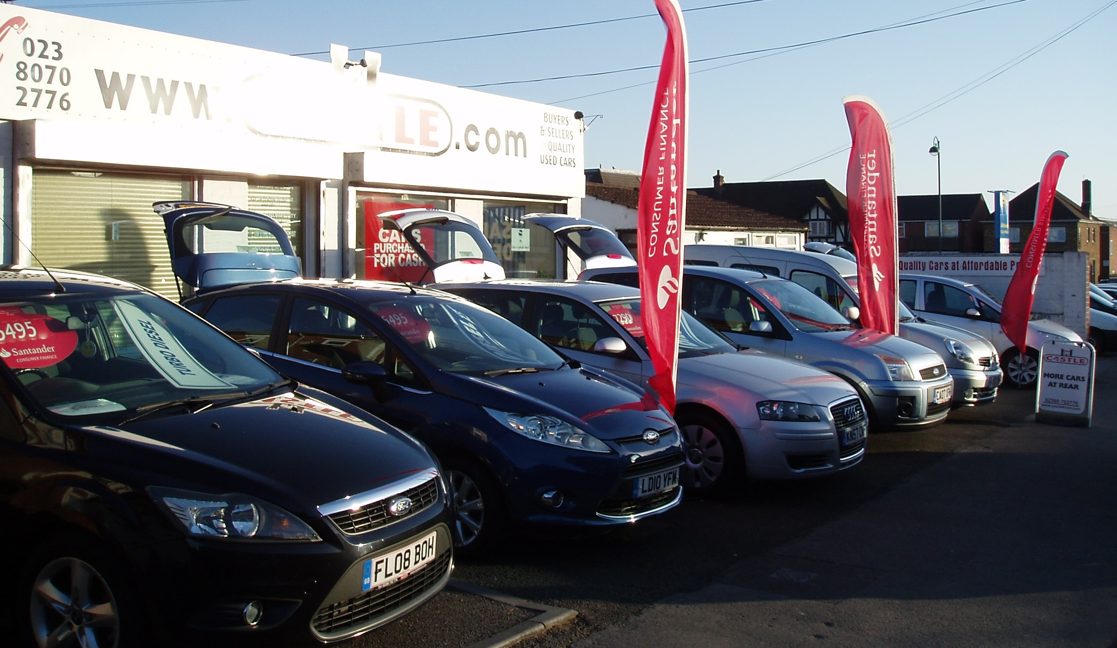 Quality used car sales in southampton hampshire castle Southampton motor cars